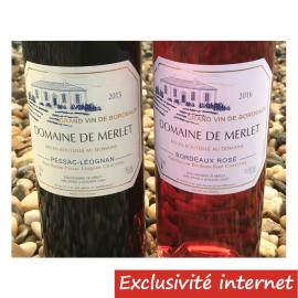 Pessac Léognan + Bordeaux Rosé