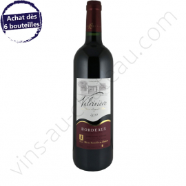 Bordeaux rouge Valrivière