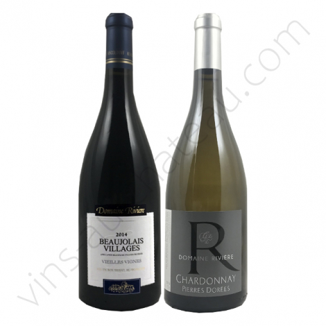 Beaujolais villages vieilles vignes + Beaujolais Blanc