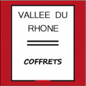 Coffret vin rouge - vin blanc Vallée du Rhône