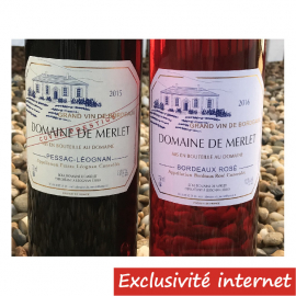 Pessac Léognan Prestige + Bordeaux Rosé